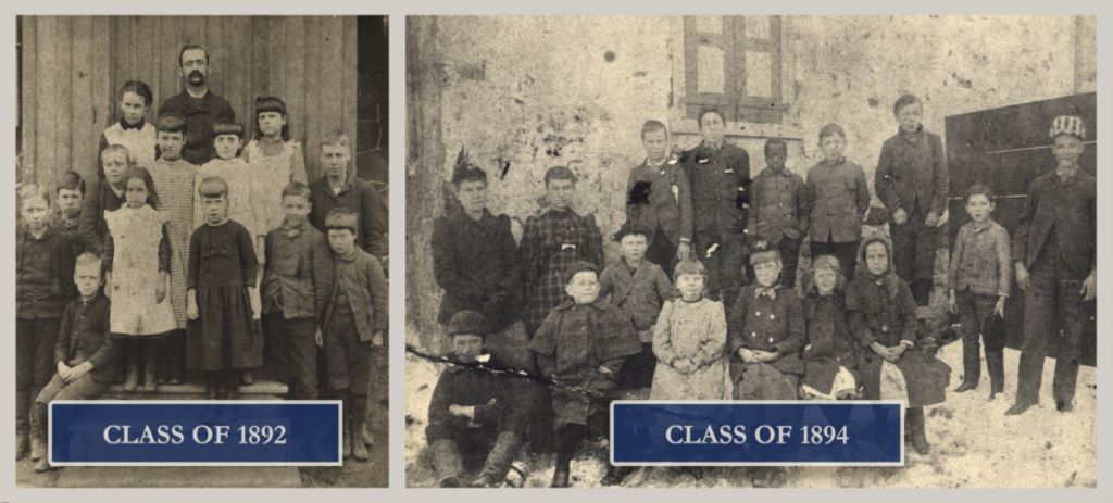 Claymont Stone School Class of 1892 and 1894 001