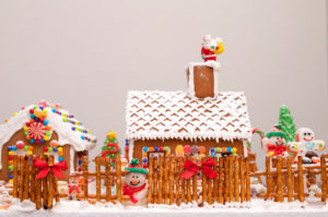 Gingerbread House Contest 12/1 following the Christmas parade. Entries must be received 11/31,